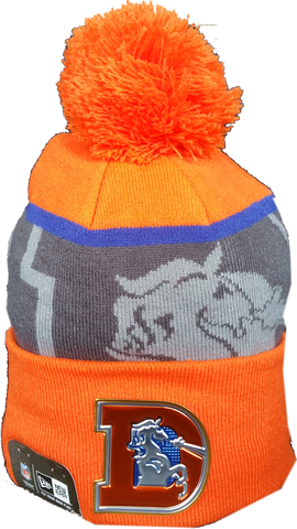 Denver Broncos Retro 50th Super Bowl Limited Edition Pom Toque
