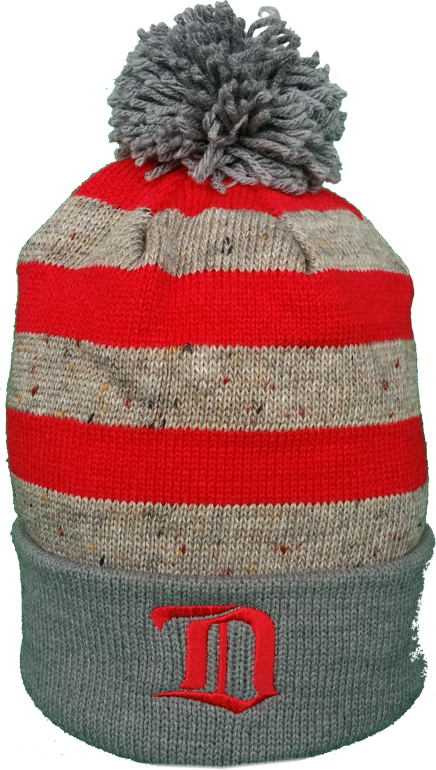 7abdfc063c7 Detroit Red Wings Toque Vintage Speckled Oatmeal Pom – More Than Just Caps  Clubhouse