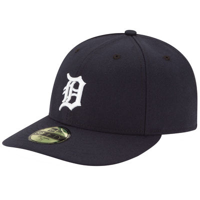Detroit Tigers Fitted Game Low Crown