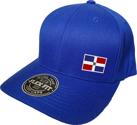 Dominican Republic Cap Flex Fit FLS Blue