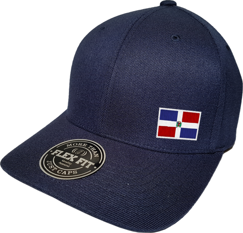 Dominican Republic Cap Flex Fit FLS Navy Blue