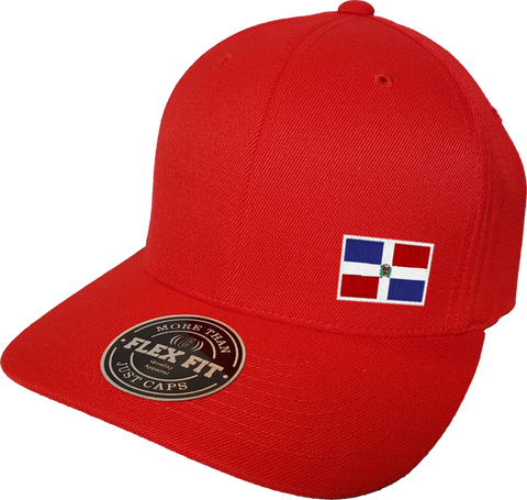 Dominican Republic Cap Flex Fit FLS Red