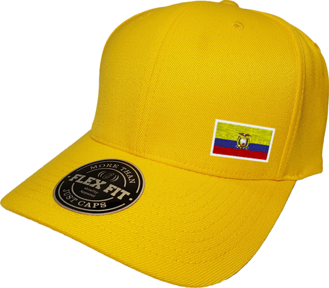 Ecuador Cap Flex Fit FLS Gold