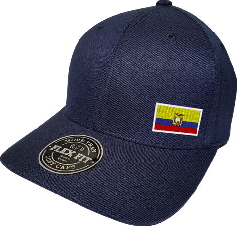 Ecuador Cap Flex Fit FLS Navy Blue