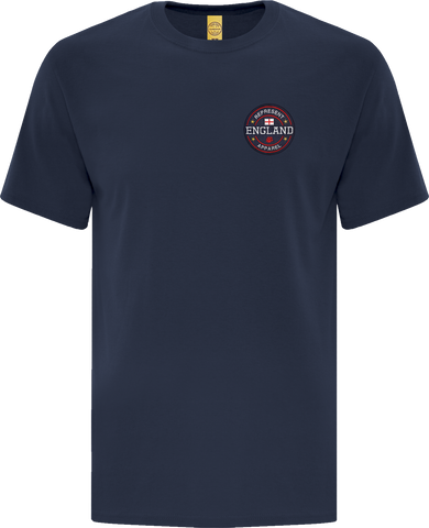 England Benchmark T-Shirt Navy