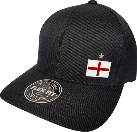England Cap Flex Fit FLS Black