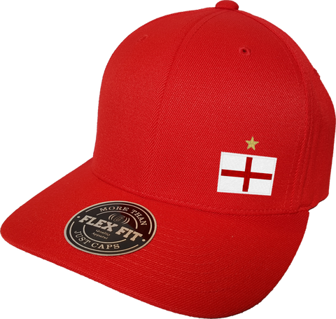 England Cap Flex Fit FLS Red
