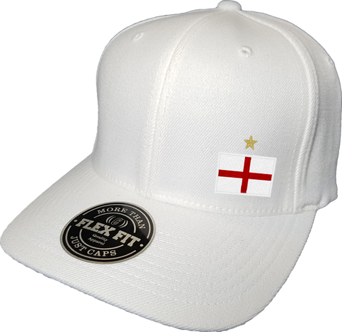 England Cap Flex Fit FLS White