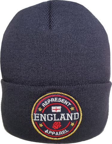 England Toque Benchmark Rib Knit Navy