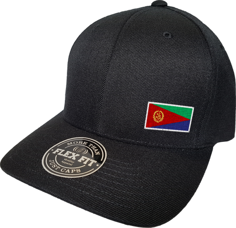 Eritrea Cap Flex Fit FLS Black