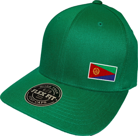 Eritrea Cap Flex Fit FLS Green
