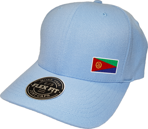 Eritrea Cap Flex Fit FLS Powder Blue