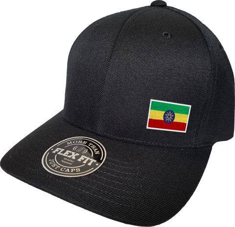 Ethiopia Cap Flex Fit FLS Black