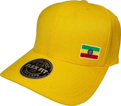 Ethiopia Cap Flex Fit FLS Gold