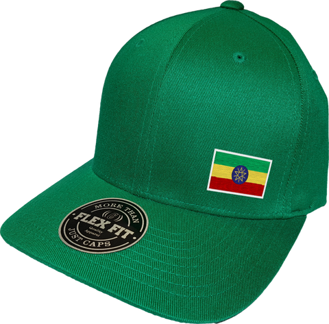 Ethiopia Cap Flex Fit FLS Green