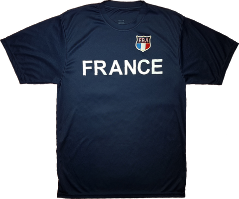 France Twill Patch Tech Jersey Navy