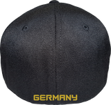 Germany Cap Flex Fit FLS Black