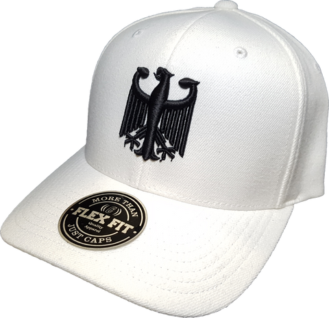 Germany Cap Flex Fit Chivalry White