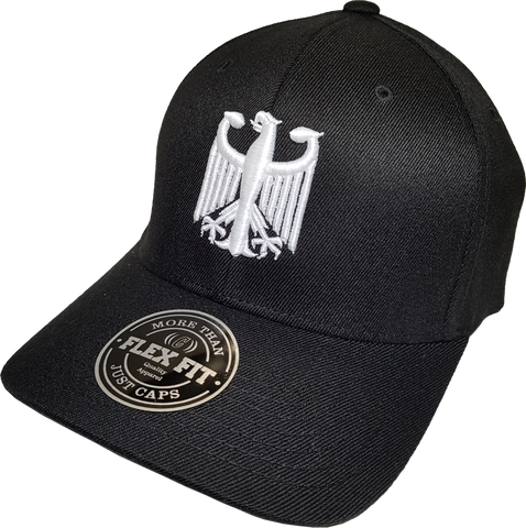 Germany Cap Flex Fit Chivalry Black