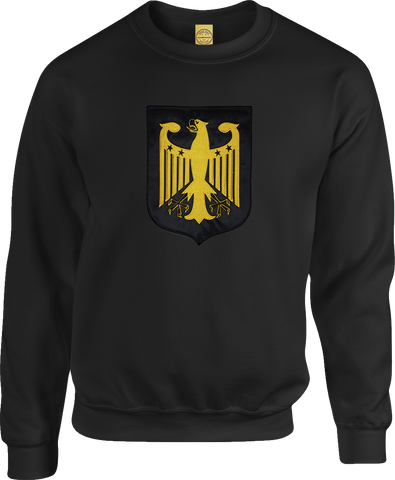 Germany Shield Crew Neck Sweater Black