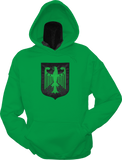 Germany Shield Hoodie Kelly Green