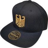 Germany Snapback Cap Chivalry Black