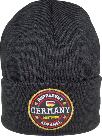 Germany Toque Benchmark Rib Knit Black
