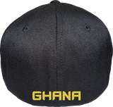 Ghana Cap Flex Fit FLS Black