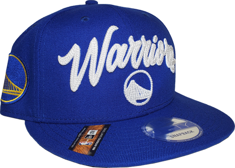 Golden State Warriors NBA 9FIFTY Alt Draft Snapback Royal Blue