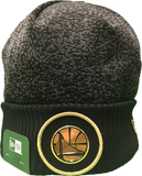 Golden State Warriors Gold On Court Beanie Toque