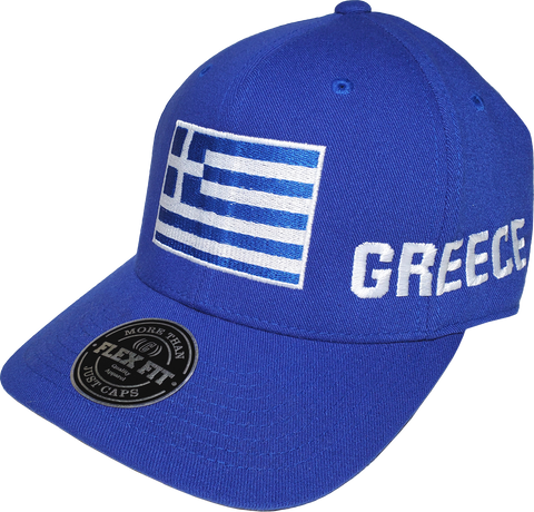 Greek Flag Hat