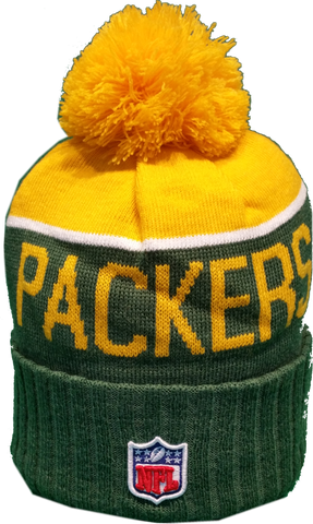 Green Bay Packers Sideline Toque Pom Knit – More Than Just Caps ... 94fc2ad197c