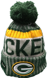 Green Bay Packers NFL 17 Sideline Pom Toque