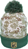 Green Bay Packers Salute to Service Sideline Fleece Pom Toque