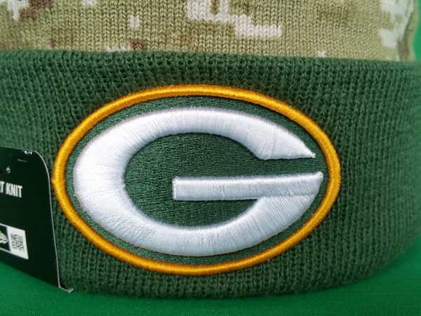 5ddf7fd6b5d Green Bay Packers Salute to Service Sideline Pom Toque – More Than Just  Caps Clubhouse