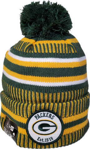 Green Bay Packers Knit Pom Toque NFL Sideline