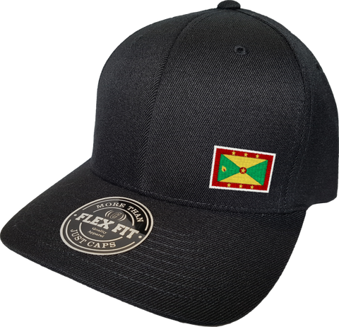 Grenada Cap Flex Fit FLS Black