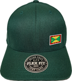 Grenada Cap Flex Fit FLS Green