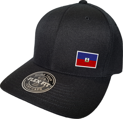 Haiti Cap Flex Fit FLS Black