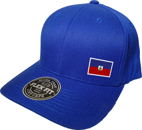 Haiti Cap Flex Fit FLS Blue