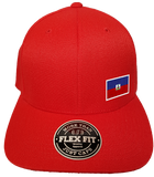 Haiti Cap Flex Fit FLS Red