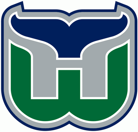 Vintage Hartford Whalers Jersey Numbering Pro Stitched 3 Layer