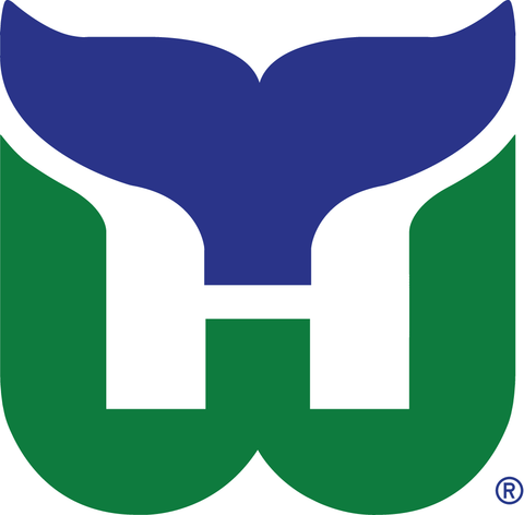 Vintage Hartford Whalers Jersey Numbering Pro Stitched 2 Layer