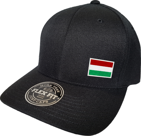 Hungary Cap Flex Fit FLS Black