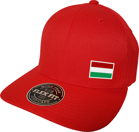 Hungary Cap Flex Fit FLS Red