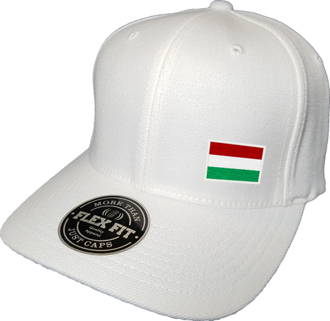 Hungary Cap Flex Fit FLS White