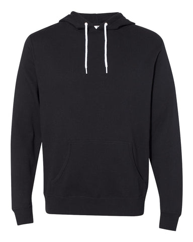 Independent Trading Co. - Unisex Lightweight Hooded Sweatshirt Black