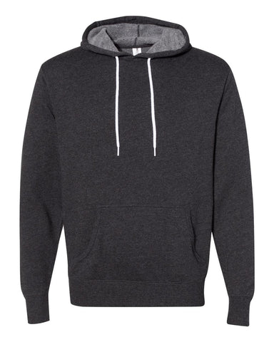 Independent Trading Co. - Unisex Lightweight Hooded Sweatshirt Charcoal Heather