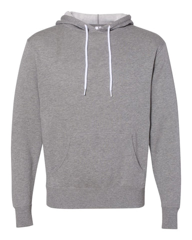 Independent Trading Co. - Unisex Lightweight Hooded Sweatshirt Gunmetal Heather