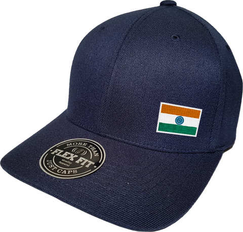 India Cap Flex Fit FLS Navy